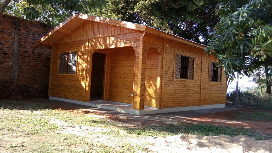 Casa de Madeira Reflorestada